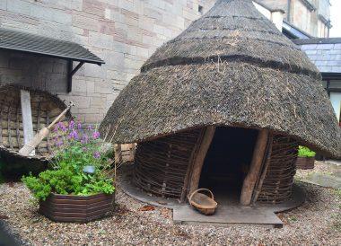 Saint Columbanus Hut, North Down Bangor Museum in Northern Ireland