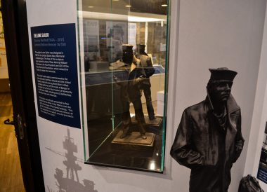 The Lone Soldier, North Down Bangor Museum in Northern Ireland