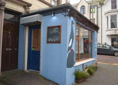 The Guillemot Cafe, Eisenhower Pier in Bangor Northern Ireland
