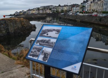 The Long Hole, Seacliff, Eisenhower Pier in Bangor Northern Ireland
