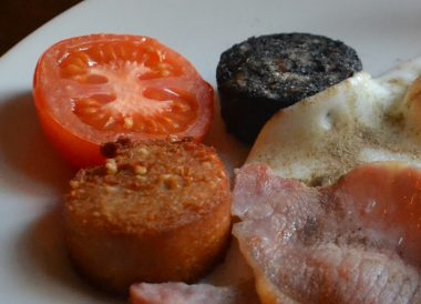 White Pudding, Traditional Northern Ireland Food and Drink