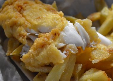 Fish Supper, Traditional Northern Ireland Food and Drink