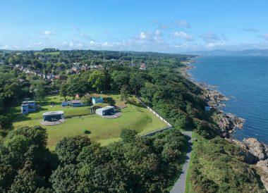 Grey Point Fort, North Down Coastal Path Bangor to Holywood