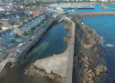 Long Hole Pier, Bangor to Groomsport, North Down Coastal Path. Northern Ireland