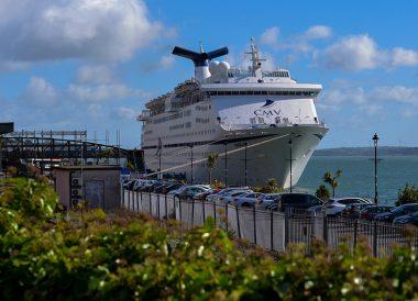 Cobh Harbour Cork, Pay the M50 Toll Fine Dublin Ireland