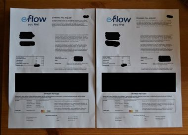 eflow fine letter, Eflow Fine Northern Ireland, Pay the M50 Toll Fine Dublin Ireland