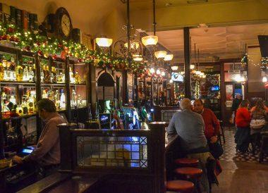 Fitzgerald's Bar Restaurant, Christmas in Dublin City Centre Ireland
