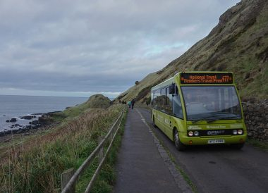 Shuttle Bus, Free Entry to the Giants Causeway N Ireland