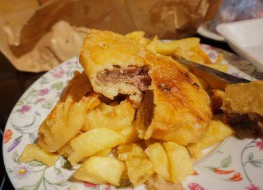 Steakette Supper, Best Takeaway Food in Northern Ireland Chip Shops