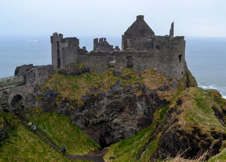 Dunluce Castle, GIants Causeway Coastal Route Tourist Attractions