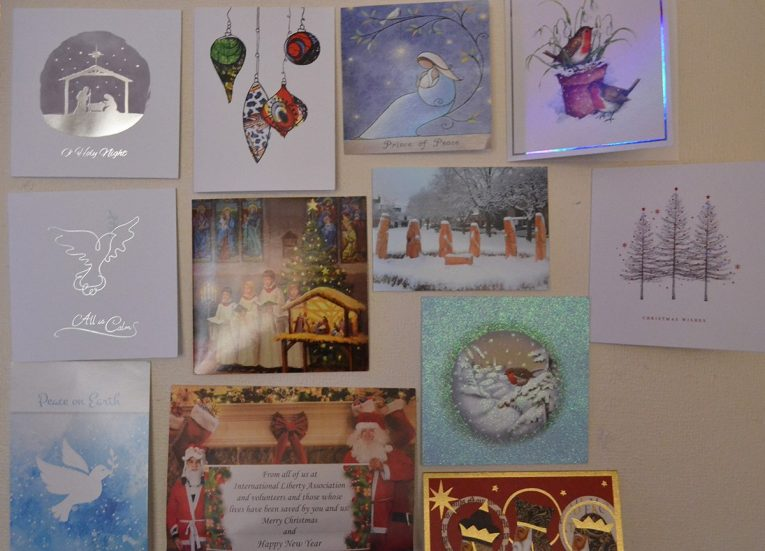 Christmas Cards, Traditions of Christmas in Northern Ireland, Bangor NI