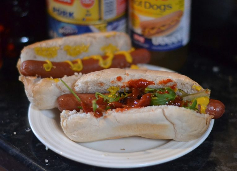 Wikinger Hot Dogs Sausages and Baps from B&M Food Shelves